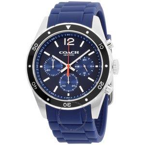 COACH Sullivan Blue Dial Men's Chronograph Watch